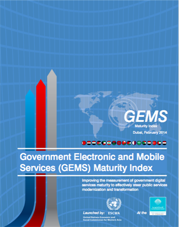 GOVERNMENT ELECTRONIC AND MOBILE SERVICES (GEMS) MATURITY INDEX