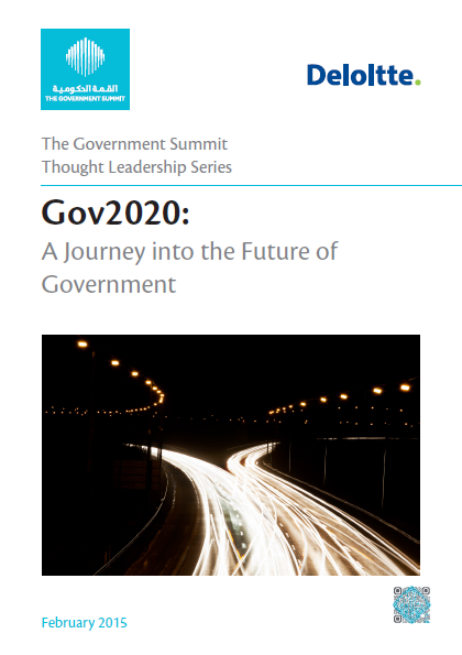 Gov2020: A Journey Into The Future Of Government